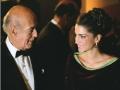 Versailles - Mr.VG. d'Estaing & SAS Rania de Jordanie